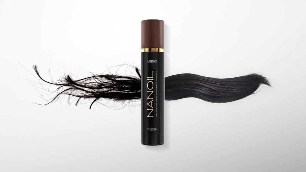 Olio per capelli Iconic – NANOIL – La svolta nella rigenerazione dei capelli