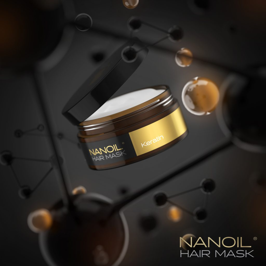Nanoil Keratin Hair Mask – Riparatore e Rinnovatore